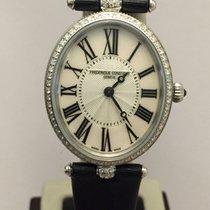 Frederique Constant Art Deco Oval Diamond ct.0.40 New Official...