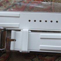 爱马仕 (Hermès) WATCH BAND WHITE RUBBER 18 mm & STEEL...