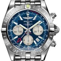 Breitling Chronomat 44 GMT ab042011/c851-ss