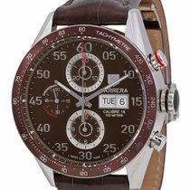TAG Heuer Carrera Chronograph Day/ Date brown dial