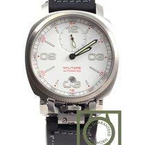 Anonimo Militare Automatico Steel white dial 2010 NEW