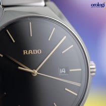 라도 (Rado) Men's True 40mm Ceramic on Ceramic Black Face...