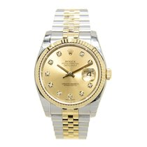 Rolex Datejust Gold And Steel Gold Automatic 116233GCH