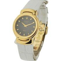 Rolex Used 6621/8black Cellini Ladys Quartz 6621/8black -...