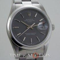 Rolex Oyster Perpetual Date 15200 Gray Dial + Rolex certif +...