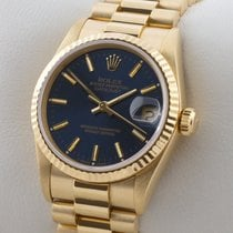 Rolex LADY DATEJUST 18 K GOLD GELBGOLD AUTOMATIC MEDIUM MID SIZE
