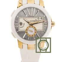 Ulysse Nardin Executive Dual Time Pink Gold Ceramic 40 mm...