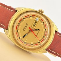 Vintage Lucien Piccard Circa 101 Automatic Day/date Gold Filled