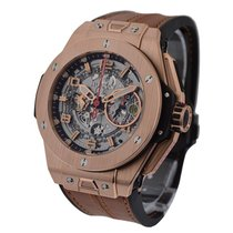 Hublot 401.OX.0123.VR Big Bang 45mm - Ferrari Rose Gold with...