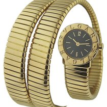 Bulgari BB191TY/12 Tubogas Serpent in Yellow Gold - on Yellow...