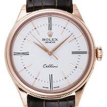 Rolex Cellini Time white roman 3,6,9