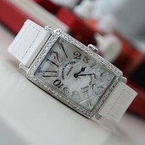Franck Muller 902 QZ REL MOP Long Island After Market Diamond...