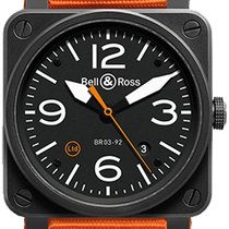 Bell & Ross Aviation BR03 BR03-92CARBONORANGE
