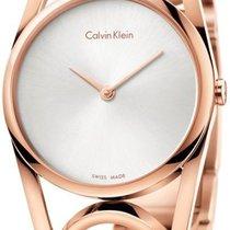 ck Calvin Klein round K5U2S646 Damenarmbanduhr Schmuckband