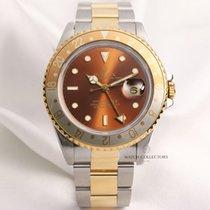 Rolex GMT-MASTER II 16713 Steel & Gold Rootbeer