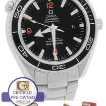 Omega Seamaster Planet Ocean XL Black 45.5mm Co-Axial 600M...