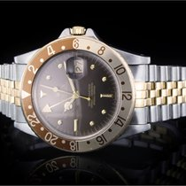 Rolex GMT-Master (40mm) Ref.: 16753 in Stahl-Gold, Nipple Dial...