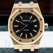 Audemars Piguet 15300OR.OO.D002CR.01 Royal Oak Jumbo Black...