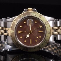 Rolex 1675 Vintage Twotone GMT-Master w/ Rootbeer Dial &...