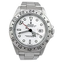 Rolex Pre-owned Explorer II #16570. White Dial-P series 2000...