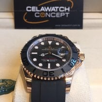 Rolex Oyster Perpetual Yacht-Master Everose Gold Oysterflex 40mm