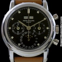 Patek Philippe 3970p Perpetual Calendar Chronograph Unpolished...