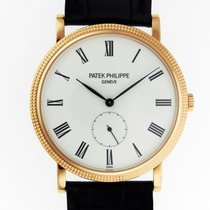 Patek Philippe Mens Calatrava 5119R-001 18K Rose Gold 36mm NEW