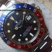 Rolex 1977 MKIV Maxxi Dial Rolex GMT 1675 Pepsi Bezel