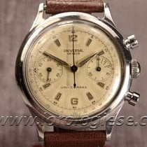 Universal Genève Uni-compax Waterproof-style Steel Chronograph...