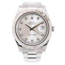勞力士 (Rolex) Datejust II White Gold And Steel Silver Automatic...