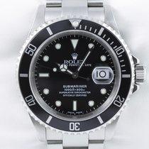 Rolex Submariner Date 300m Taucher Stahl K-Serie 2002 Rolex Box