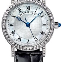 Breguet Classique Automatic Diamonds 8068 White Gold 30mm