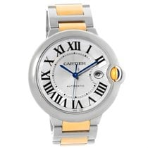 Cartier Ballon Bleu Steel 18k Yellow Gold Unisex Watch W69009z3