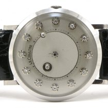 Jaeger-LeCoultre Vintage 14K White Gold Galaxy Mystery Diamond...