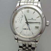 Jaeger-LeCoultre Master Control Hometime -Stahl/Stahl -Box+Pap...