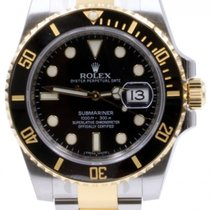 Rolex Submariner 116613 116613LN Ceramic Black Date 18k Yellow...