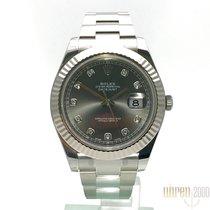 Ρολεξ (Rolex) Rolex Datejust II Stahl/Weißgold 116334 Rohdium...