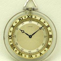 까르띠에 (Cartier) Cartier Pocket Watch, Rock Crystal, from twenties