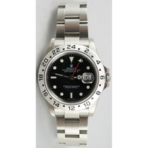 Rolex Explorer II 16570 Black Face Perfect Flawless Condition...