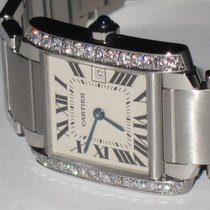 Cartier Tank Francaise Midsize Diamonds