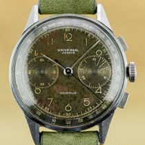 Universal Genève Vintage Compur Chronograph Gilt