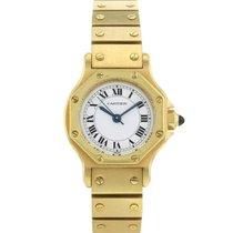 Cartier Santos Ronde en or jaune Vers 1990