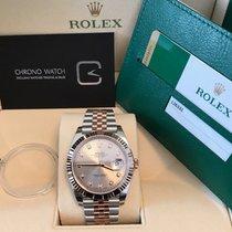 Rolex Datejust II  41 Chocolate Diamond Dial Jubilee