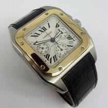 Cartier Santos 100 Xl  Chronograph Xl