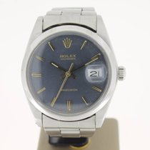 Rolex Oyster Precision Steel 34mm Blue/GreyDial (BOX1972) Fine