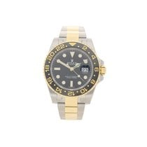 Rolex GMT Master II 116713LN - Steel & Gold - Black Dial -...
