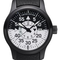 Fortis B-42 Flieger Black Cockpit GMT Limited Edition