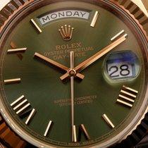 Ρολεξ (Rolex) Day - Date green dial