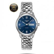 浪琴 (Longines) - Flagship Automatic Day Date Mens Watch
