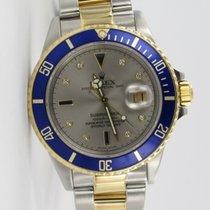 Rolex Submariner Date SULTAN Stahl / Gold 16803 LC 100
